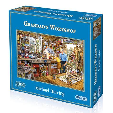 grandads workshop 1000 puzzle gibsons from craftyarts co uk uk