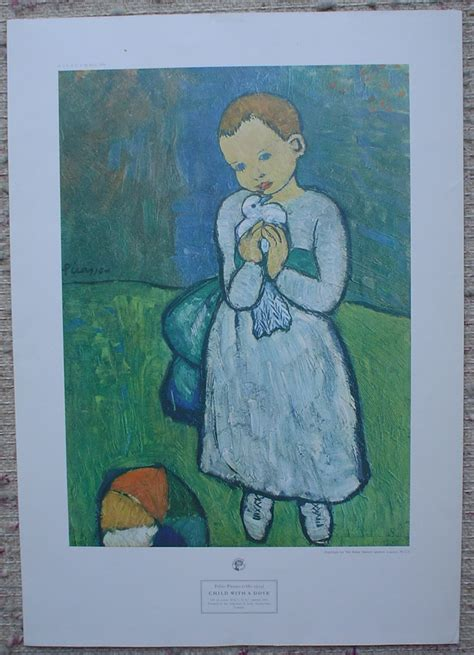 picasso paintings child with a dove picasso child with a dove kerrisdale gallery