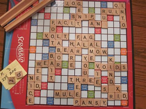 all scrabble words complete of scrabble