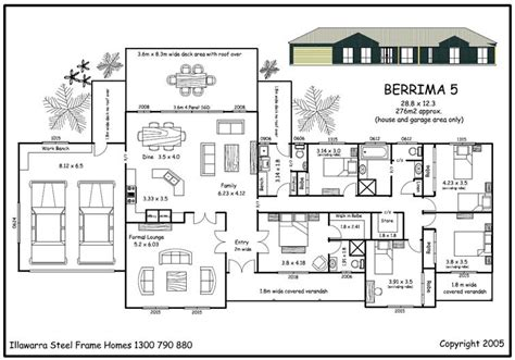 floor plans 5 bedroom house simple house plan with 5 bedrooms home design