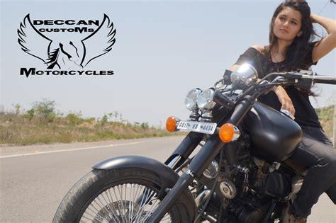 Modified Bikes Bangalore by Modified Bajaj Avenger Deccan Custom Motorcycles 350cc