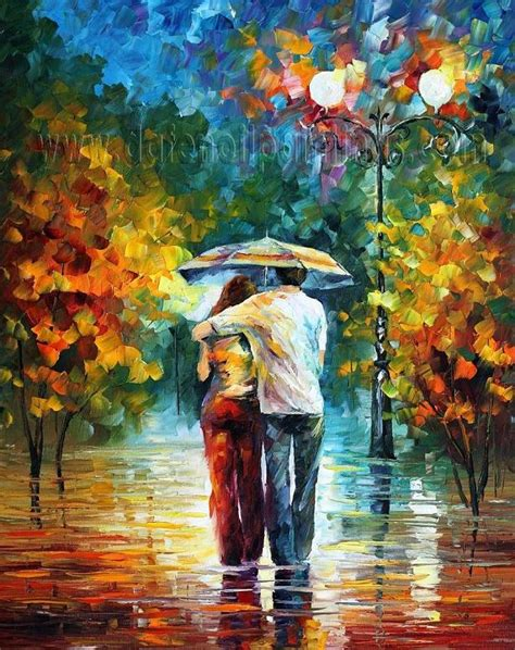 whole painting modern impressionism palette knife painting kp069