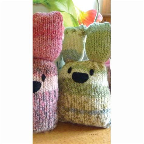 knitting kit bunny knitting kit by gift knit kits