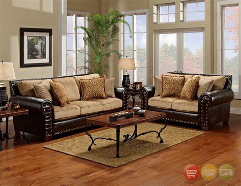 brown living room furniture tinga marino traditional brown living room set