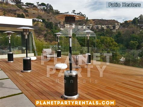 patio heaters rentals patio heaters for rent heater includes propane gas