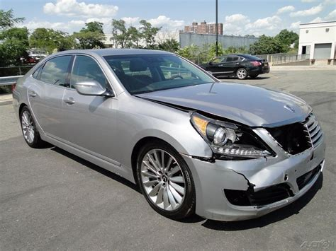 2014 Hyundai Equus Signature by Luxury 2014 Hyundai Equus Signature Repairable For Sale