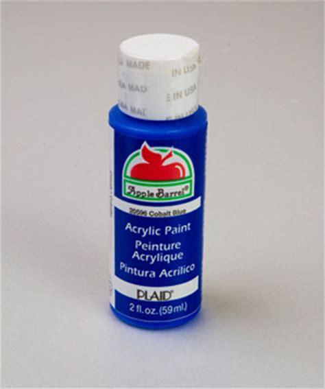 acrylic paint usage apple barrel matte cobalt blue acrylic paint 2 oz bottle