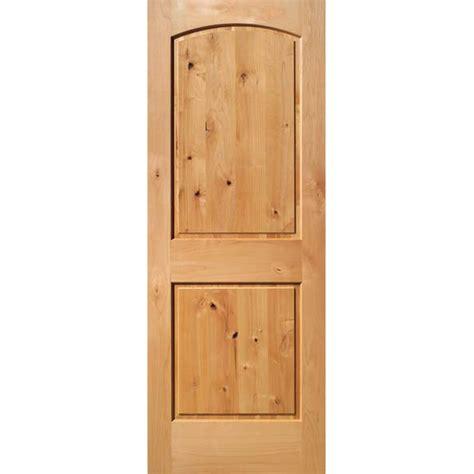 solid interior door slab shop reliabilt 2 panel arch top solid non bored