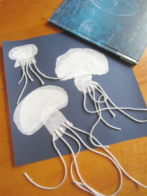 sting paper crafts relentlessly deceptively educational jellyfish