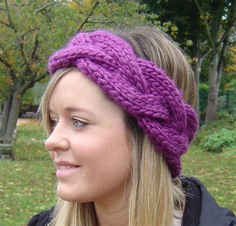 knitting pattern ear warmer headband easy knit headband ear warmer pattern crochet and knit