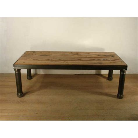 style coffee table large coffee table industrial style