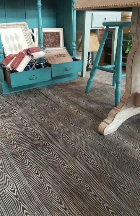 diy chalk paint floor how to stencil concrete floors with chalk paint