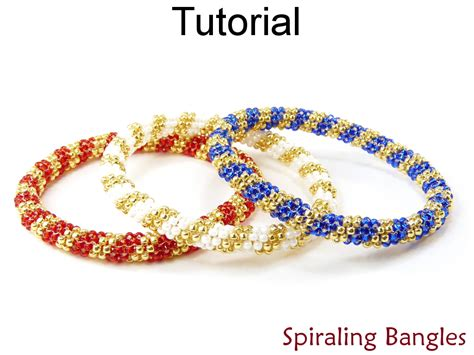 peyote bead bracelet patterns beading tutorial bangle bracelet even count tubular