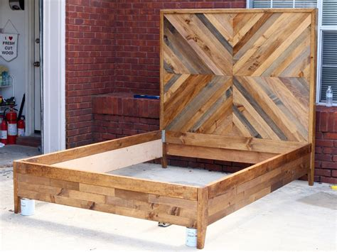how to make a headboard out of wood how to build a diy west elm bed