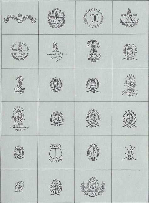 alte thüringer porzellanmarken herender porzellan manufaktur 1826 als keramikfabrik