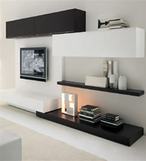 contemporary home interior wall system furniture oasi