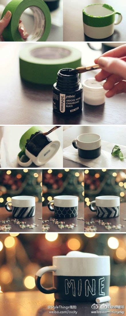 diy chalkboard coffee mug chalkboard mugs diy ideas coffee i