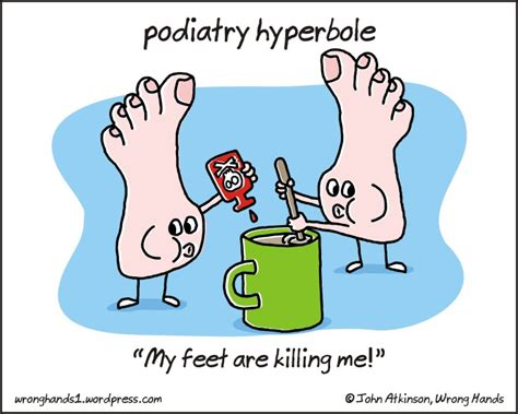 hyperbole picture books podiatry medicine and d epices on