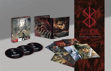 berserk collection berserk complete series collection dvd on sale now