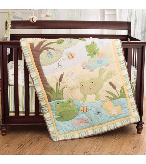 carters crib bedding sets s 4 crib bedding set in the pond