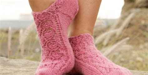 knitted ankle socks patterns free camellia knitted ankle socks free pattern
