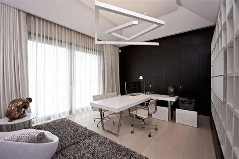 Home Interior Arch Designs 21 black and white home office designs decorating ideas