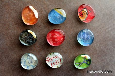 magnets for craft projects diy glass marble magnets craft projects and ideas