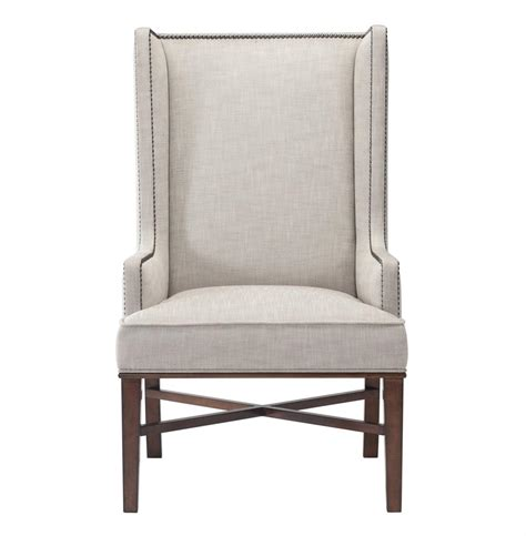 wing dining chairs jacqueline hostess wing back occasional dining arm chair