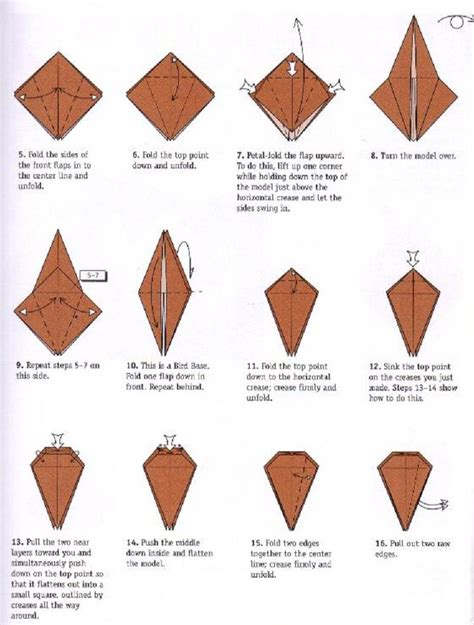 origami flapping swan origami crane flapping alfaomega info
