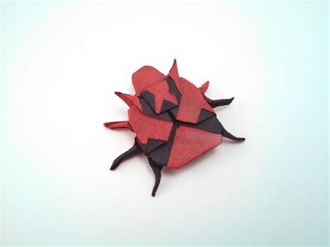 origami ladybug origami ladybugs gilad s origami page