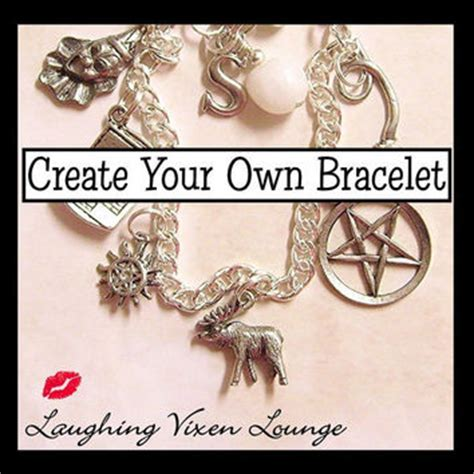 make your own jewelry store shop supernatural charm bracelet on wanelo