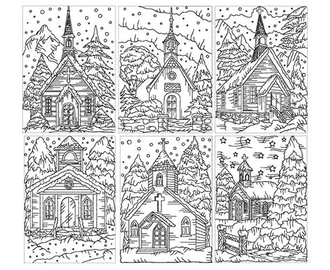 church for adults architecture and living coloring pages for adults