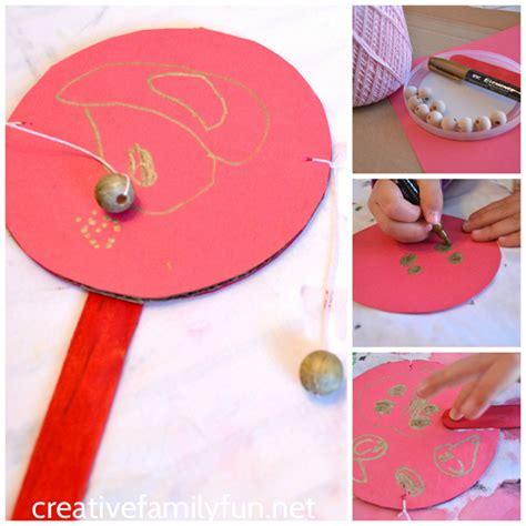 china crafts for rattle drum craft creative family