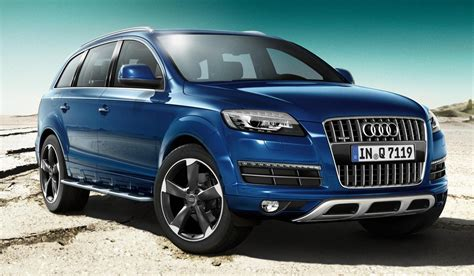 Audi Q7 Sline by Audi Q7 New S Line Editions Added To Audi Q7 Line Up