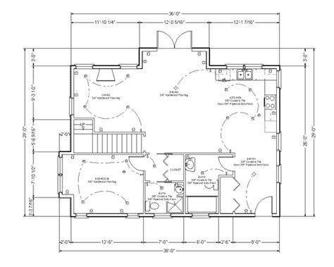 draft a blueprint of your home how to read blueprints