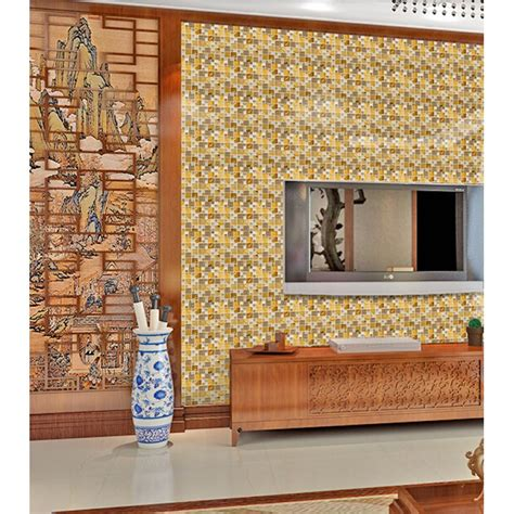 gold glass tile backsplash gold 304 stainless steel metal tiles glass mosaic