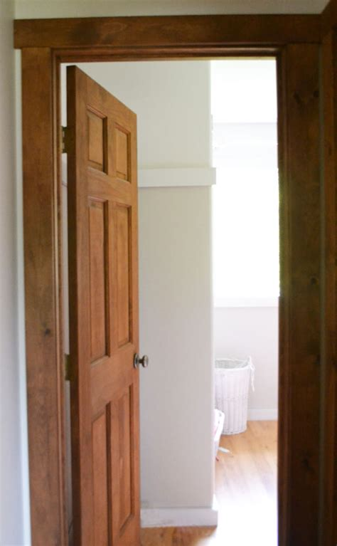 painting stained woodwork white white wood trim and doors
