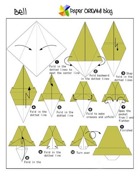 Origami Bell Paper Origami Guide