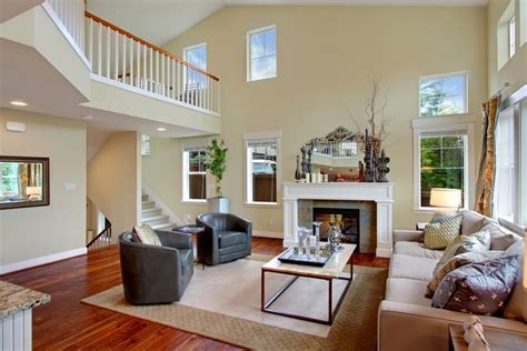 paint colors for small rooms with high ceilings neutral paint colors for decorating family room with high