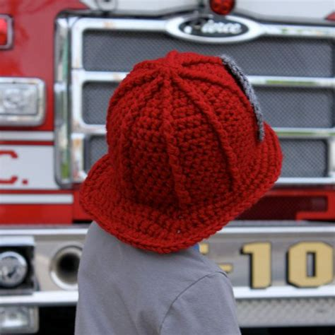 knitted fireman hat pattern firefighter baby pictures firefighter helmet pattern