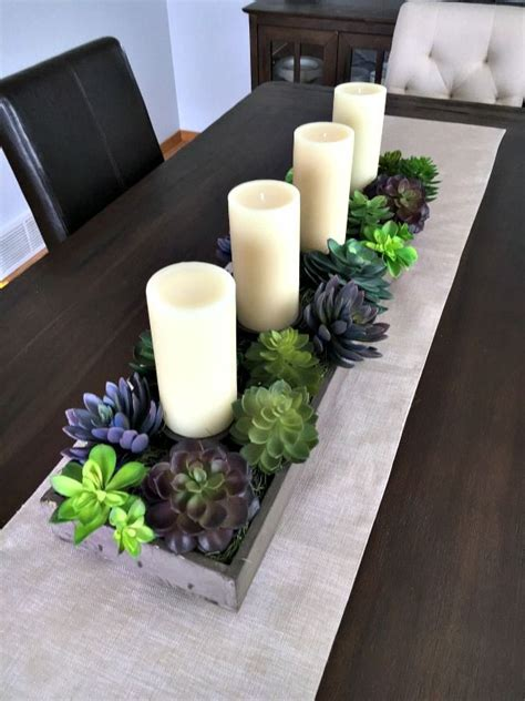 table centerpieces candles 25 best ideas about dining table centerpieces on