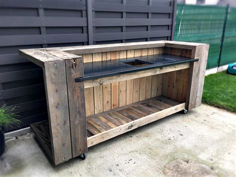Pallet Outdoor Kitchen Bar ? Pallet Ideas ? 1001 Pallets