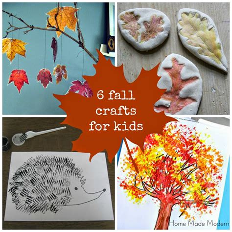 crafts for fall home made modern craft of the week 6 fall crafts for