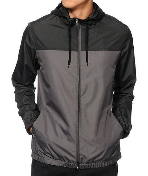 wind breaker zine harvey 2 tone windbreaker jacket