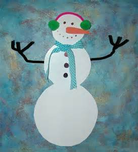 snowman crafts for jolieart craft tutorial for snowman