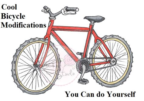 Modifications Of Bicycle by Cool Bicycle Modifications You Can Do Yourself The