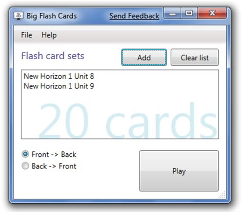 program to make flash cards ed andersen fullscreen flashcard program