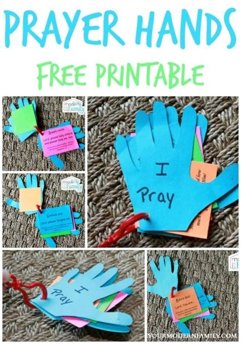 free prayer crafts for prayer and church ideas on
