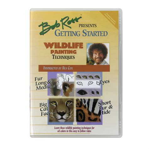 bob ross painting kits uk wildlife painting techniques dvd bob ross from