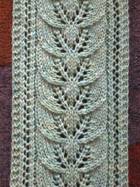 knit lace pattern free knit lace scarf pattern design patterns